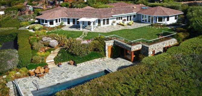Robert Redford Tiburon, California Mansion