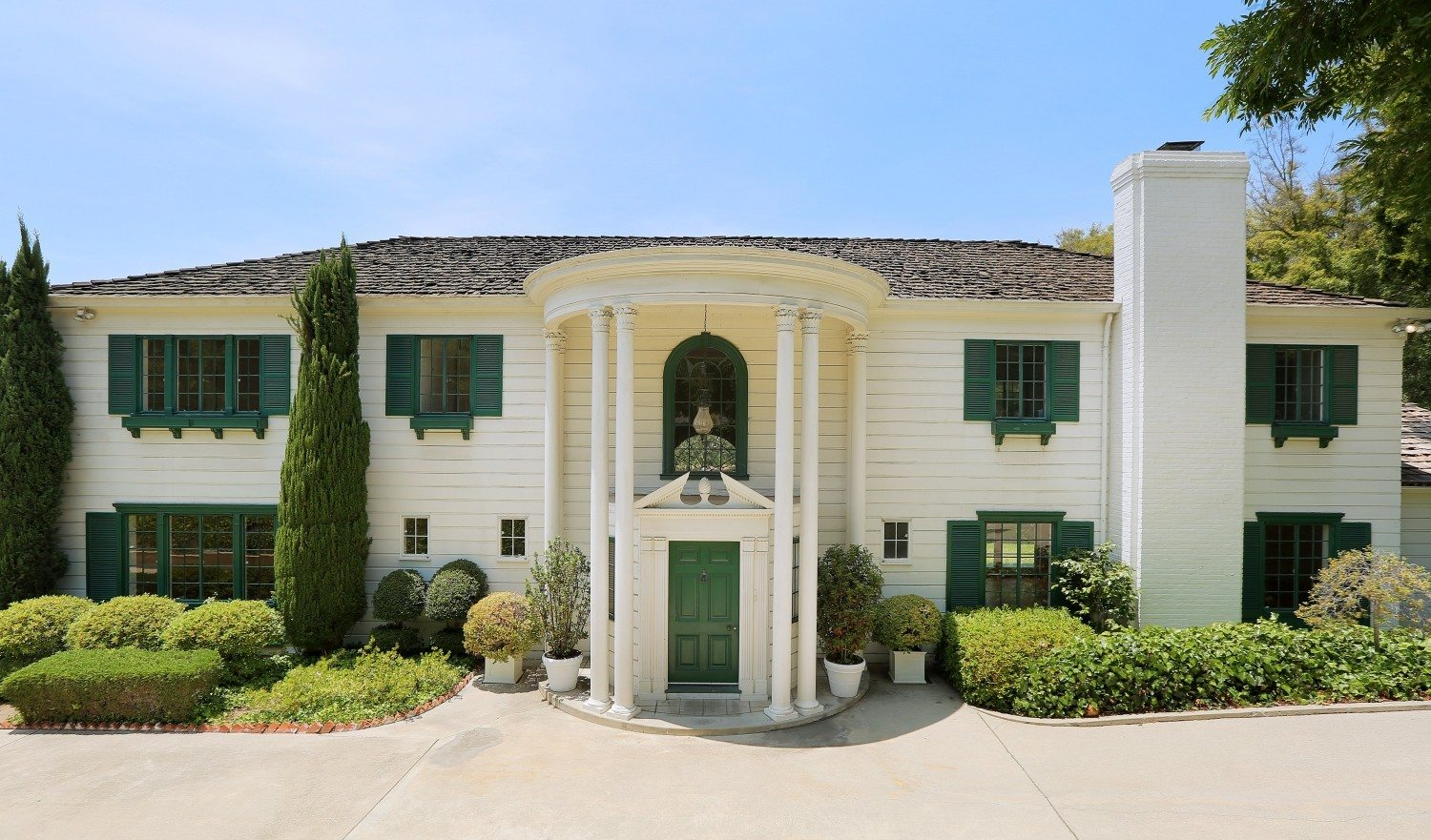 Mommie dearest mansion hits the market for 35m no wire for Crawford house