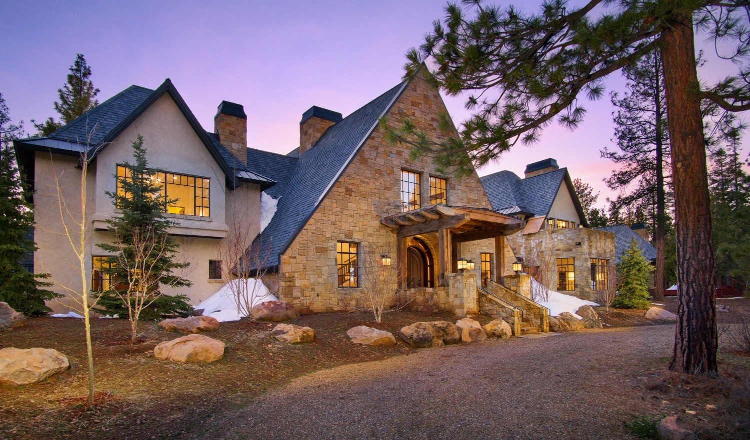 Extraordinary Home Of The Week: Stately Alpine Manor In