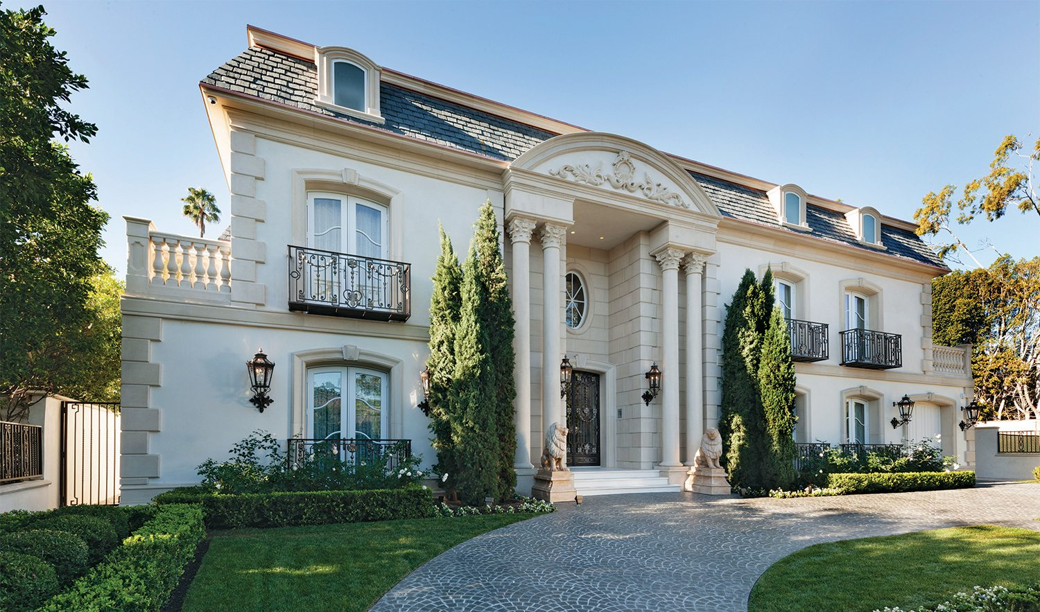 Inside the most elegant beverly hills french chateau for French luxury homes