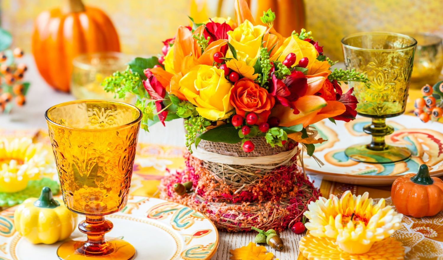 Show Your Gratitude With These Diy Thanksgiving Centerpieces