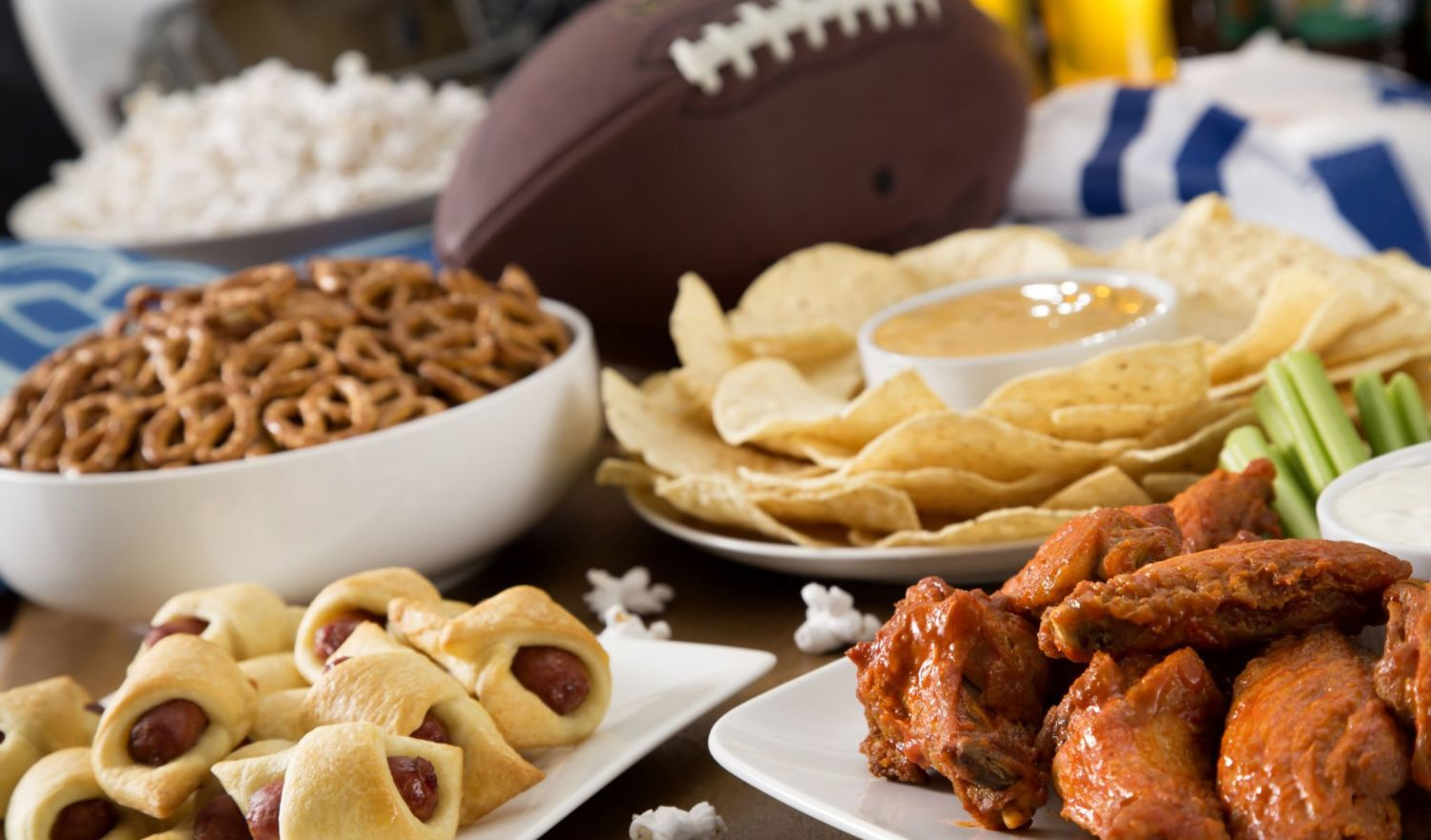 Food faceoff 10 classic vs healthy recipes for the big game view larger image forumfinder Images