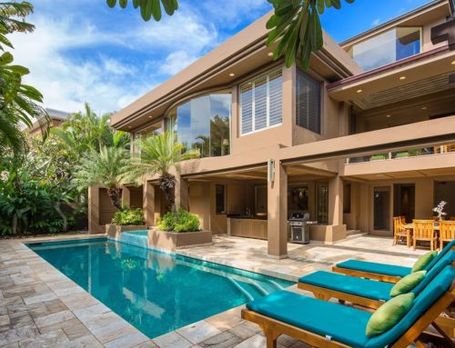 Luxury Vacation Home on Diamond Head Beachside in Hawaii