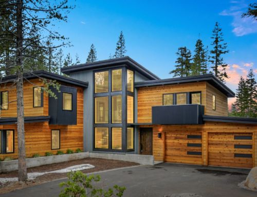 Modern Camp-Style Home in Tahoe Donner