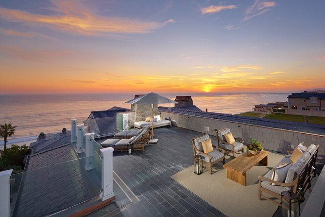 House Envy A Seaside Rooftop Deck California Home