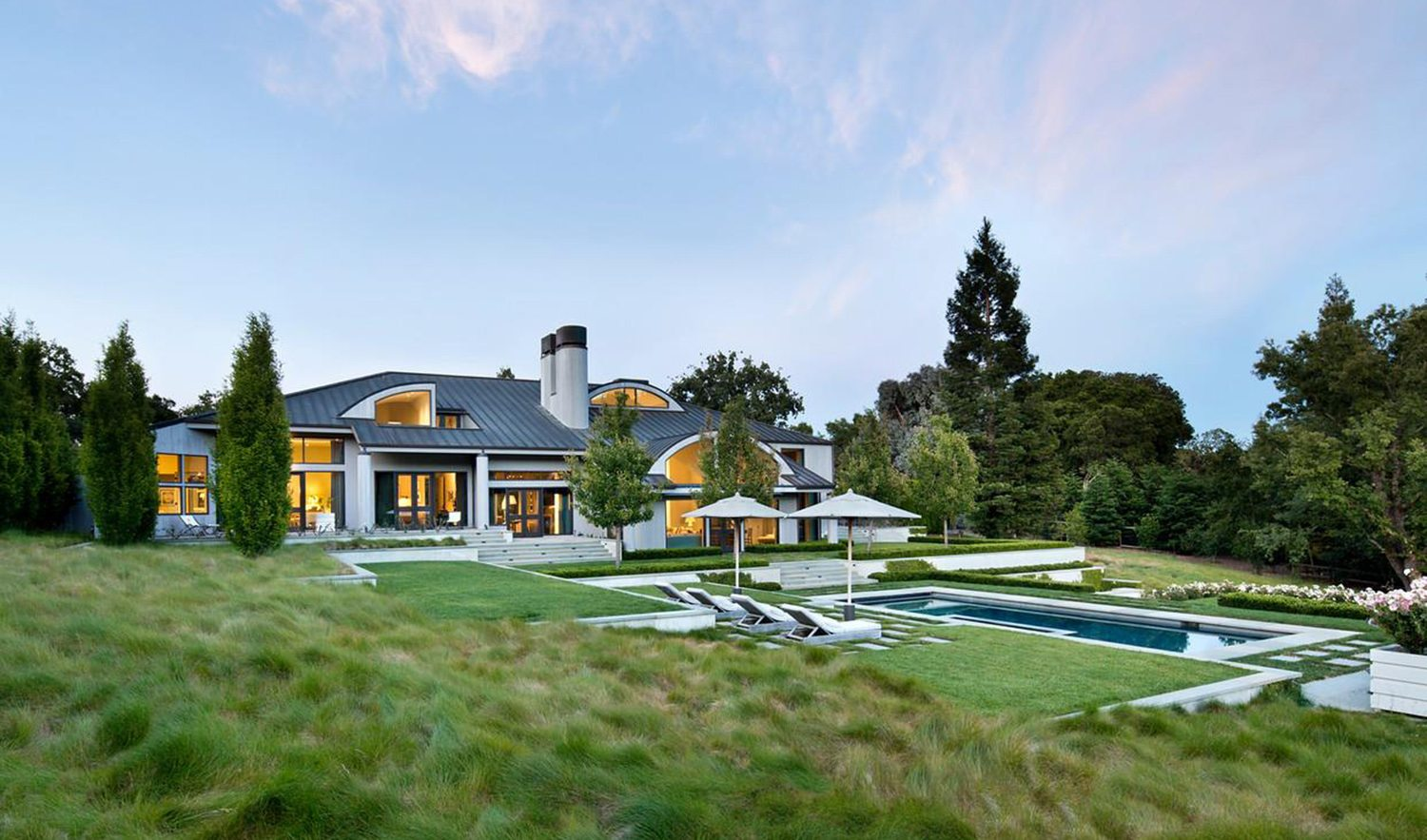 Home Of The Week Rare Woodside Contemporary
