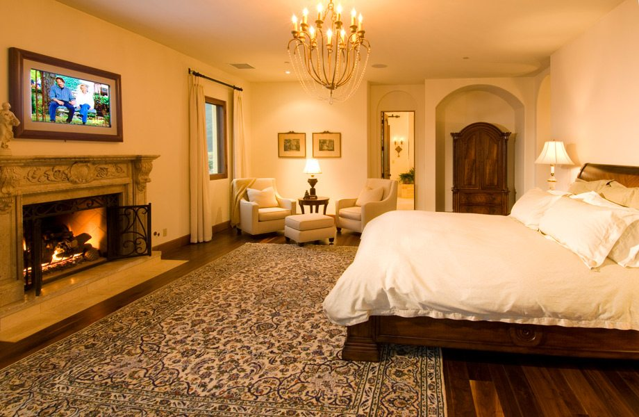 Romantic master suites to love california home for Romantic master bedroom designs
