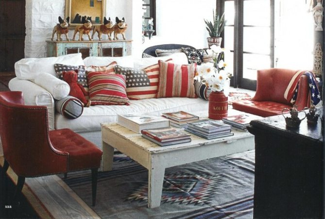Americana Home Style Not Just For July 4th Anymore