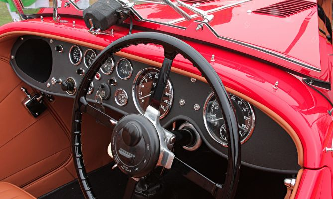 Concours Red Interior