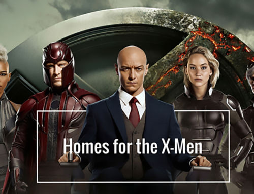 At Home with Our Favorite X-Men Characters