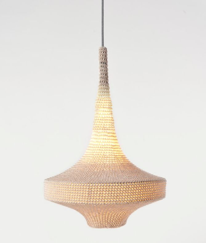 Knitted Lamp