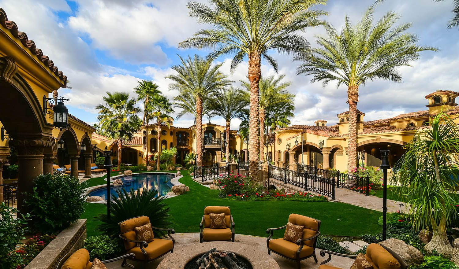 Extraordinary home of the week casa bella in rancho mirage for 14 strauss terrace