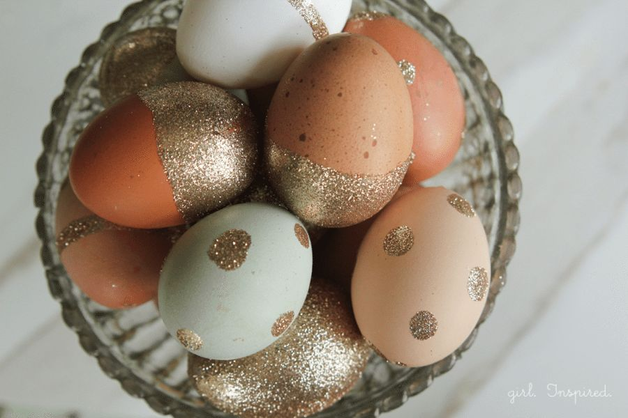 Easter Entertaining: Glam Easter Eggs