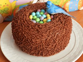 Easter Entertaining: Bird Nest Cake | California Home