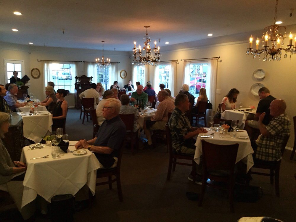 15 romantic restaurants in california for Romantic restaurants in california