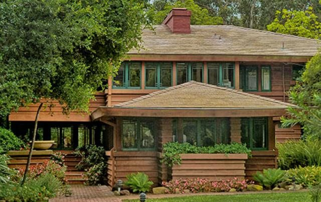 Frank lloyd wright an inside look at some of his most for Frank lloyd wright houses in california