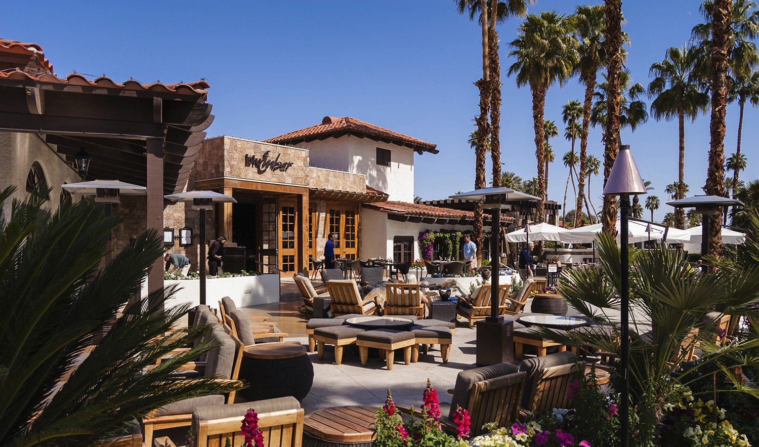 Rancho Las Palmas resort in Palm Springs, CA