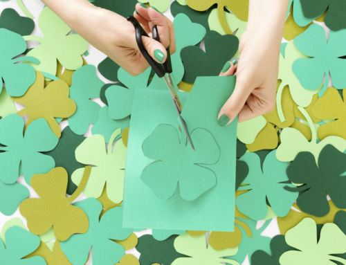 Four Lucky St. Patrick's Day Craft Ideas for National Craft Month