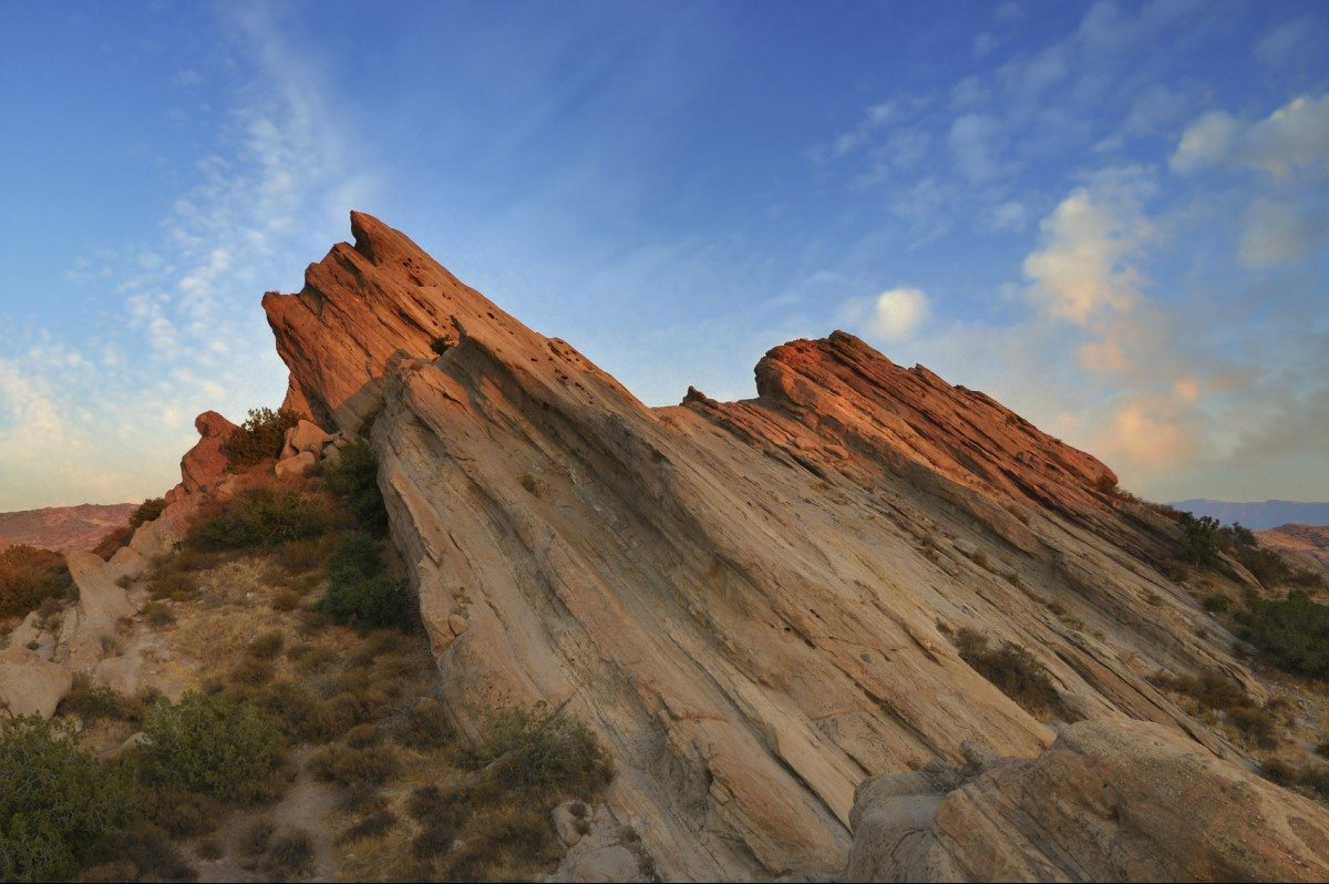 """""""Rock formation in Vasquez Rocks Natural Area Park in southern California, USA."""""""