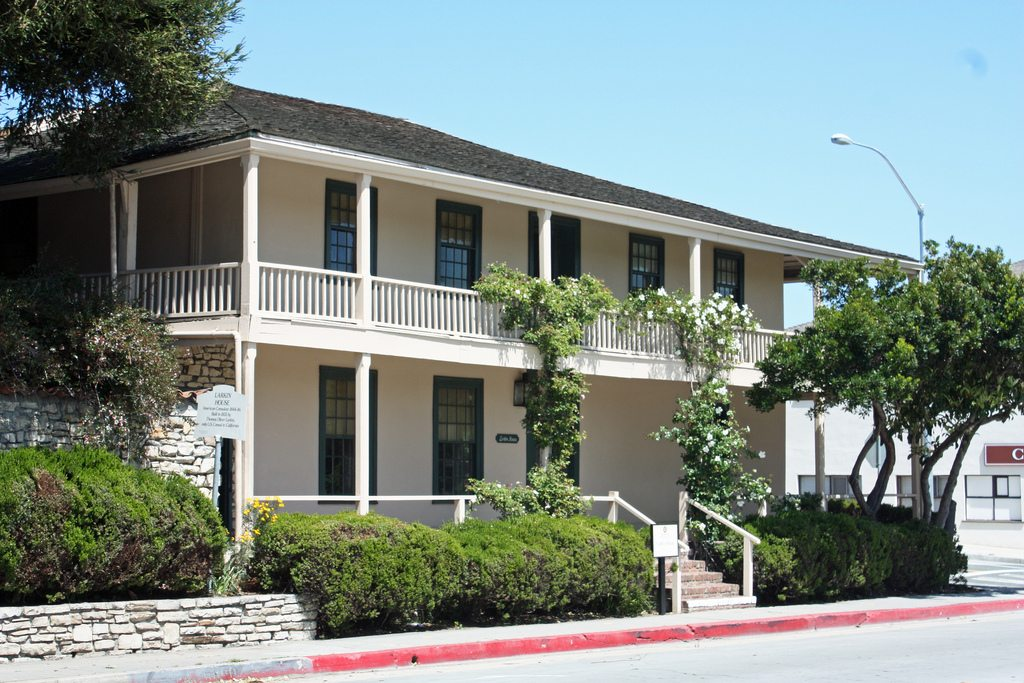 Monterey style architecture the work of a master for House architecture styles