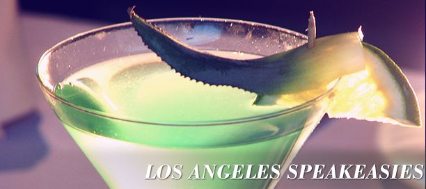 The Secret Nightlife Of The Californian Speakeasy