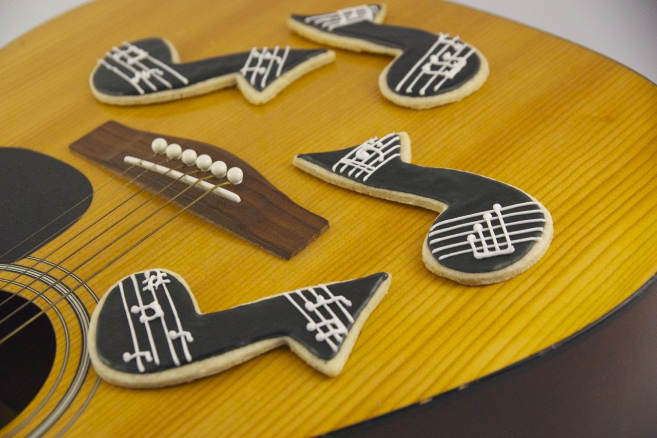 musical note cookies 2