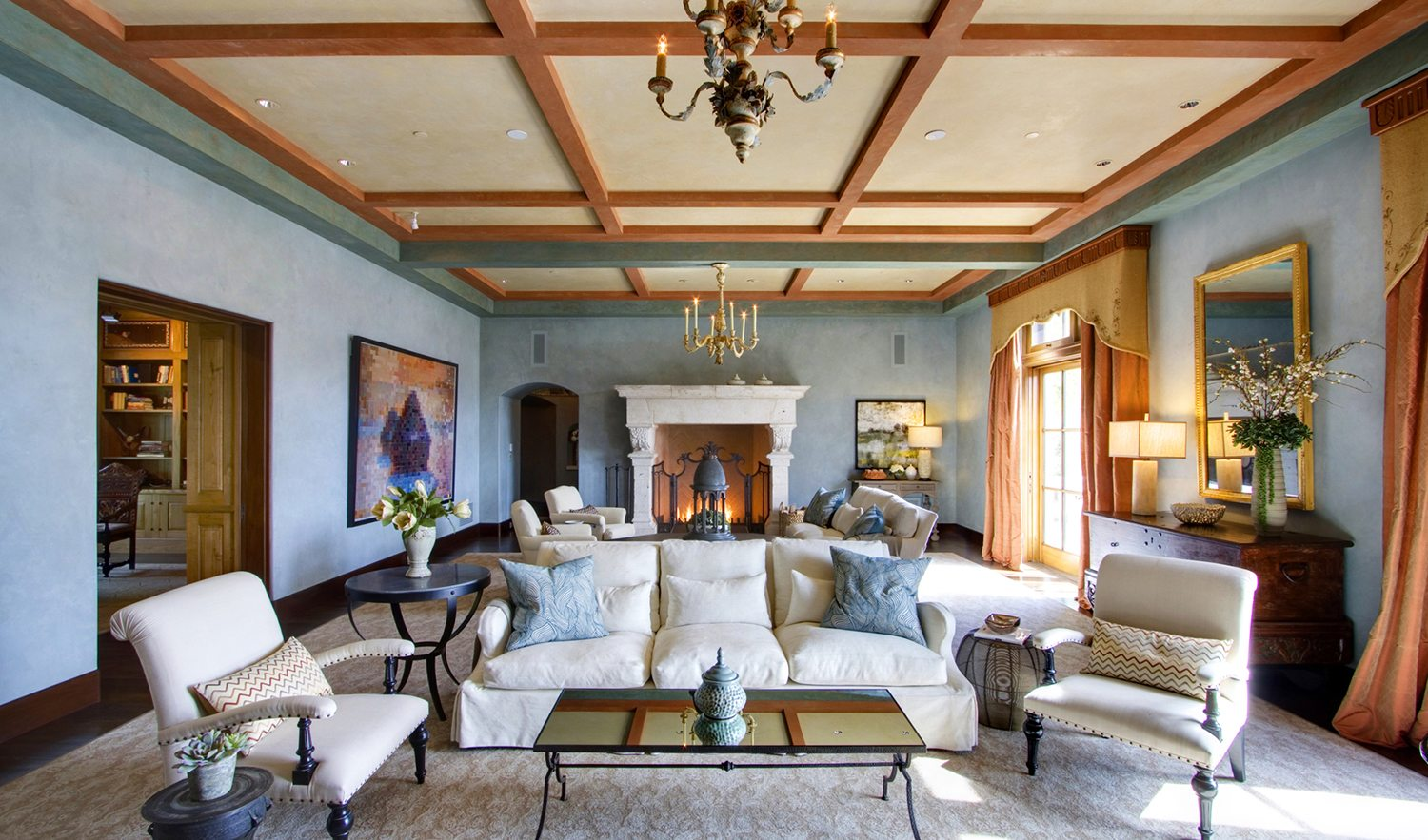Beau ... Williams In The Early 2000s And Features An Approximately 20,000 Square  Foot Mediterranean Style Villa With Five Bedrooms, Six Full And Five Half  Baths.