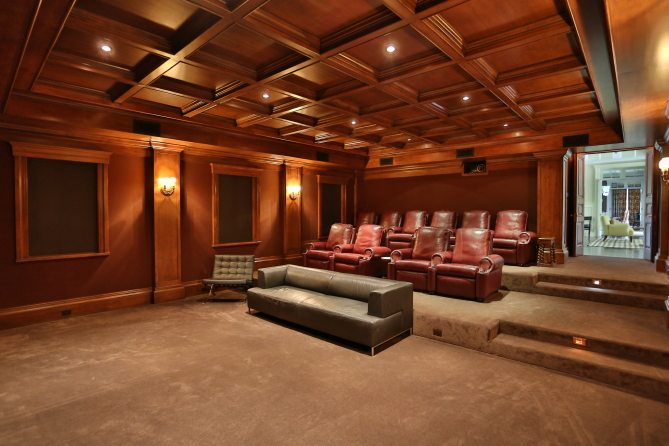 Championship Man Caves 5 Homes Made For Super Bowl Sunday